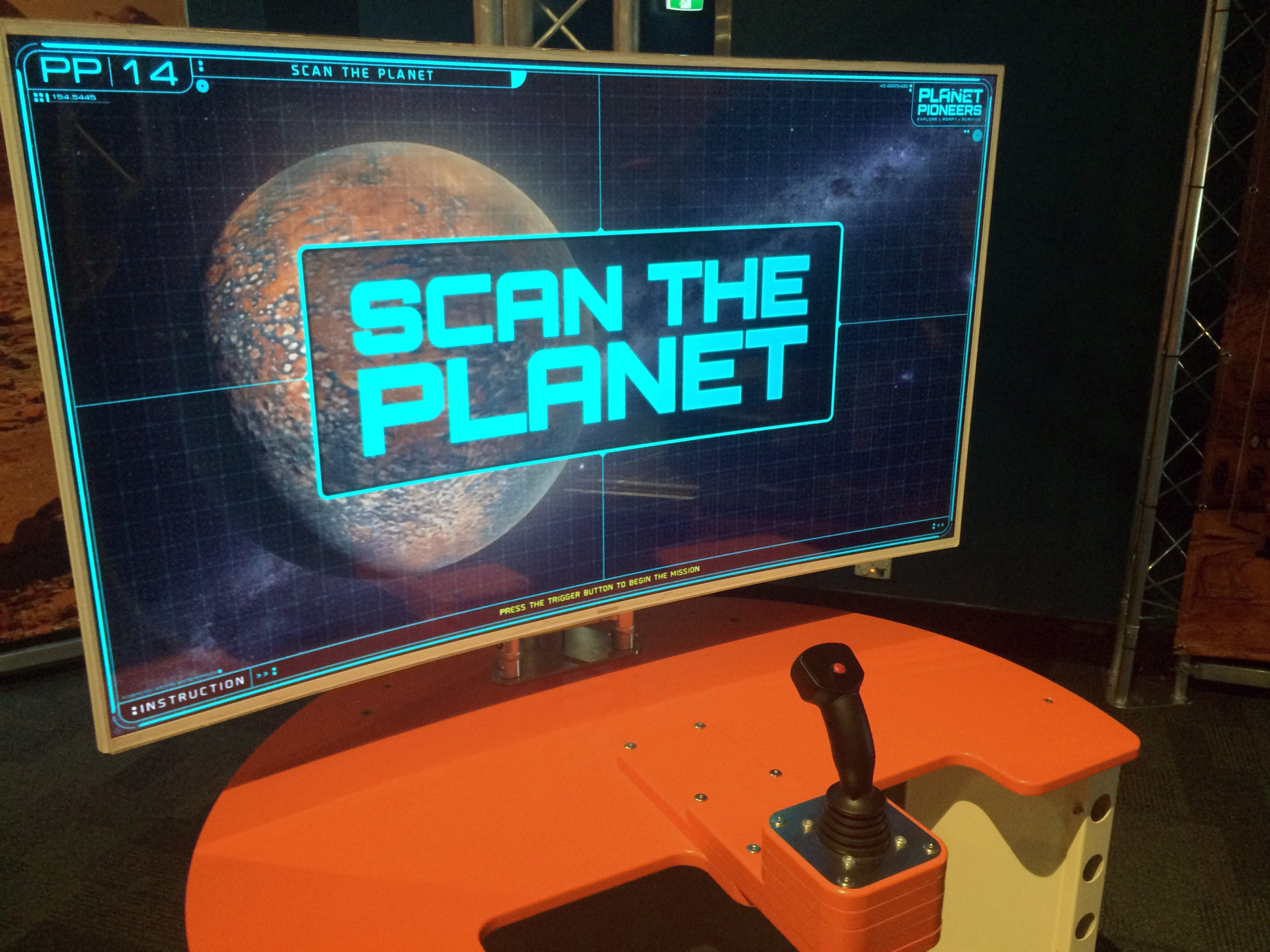 Scan the Planet Console